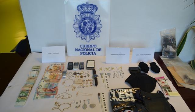 Tres delincuentes 'profesionales' detenidos en Albacete por robos en viviendas