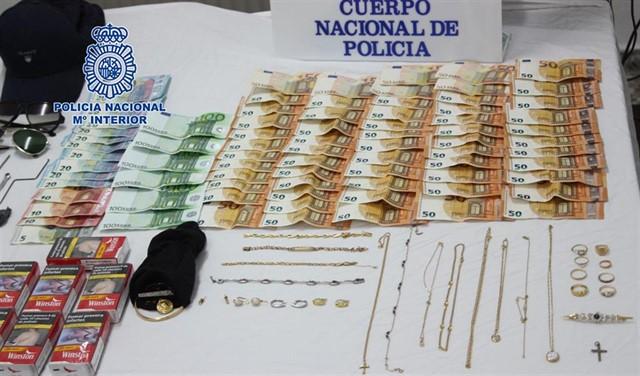Seis personas detenidas por robos en las provincias de Albacete, Murcia y Alicante