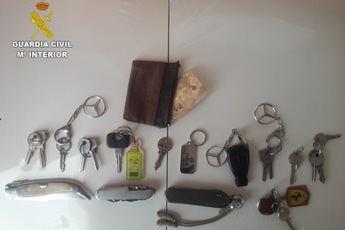 Detenido en Sisante (Cuenca) un hombre de 34 años por robos en domicilios y en coches