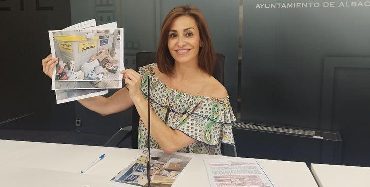 Críticas del PP de Albacete a la gestión municipal en material de reciclaje