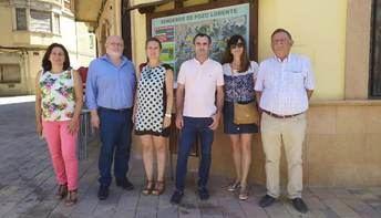 La Junta de Castilla-La Mancha se interesa por los problemas de despoblación de Pozo Lorente (Albacete)