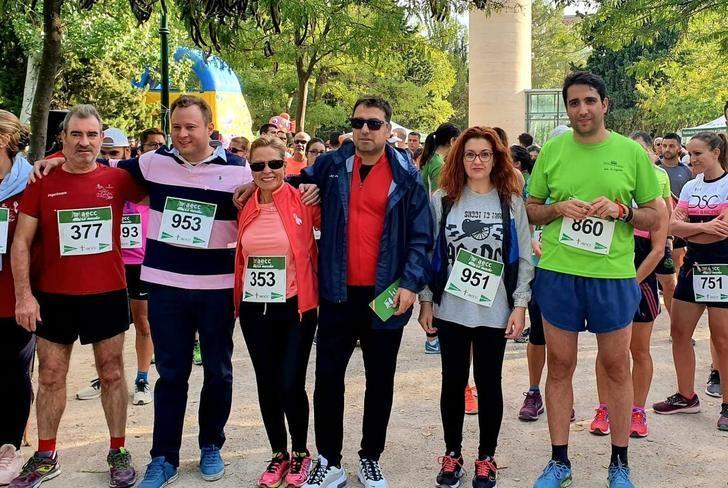 La II Ruta En Marcha por la Investigación de la Asociación Española Contra el Cáncer reúne a 700 personas en Albacete