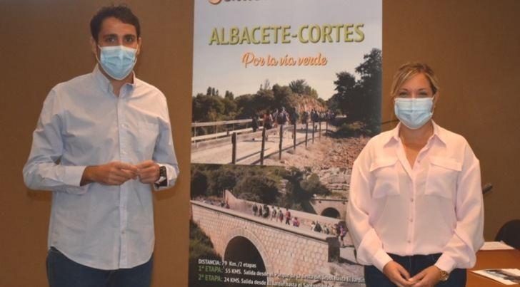La Diputación de Albacete prepara la Ruta Senderista que irá de Albacete a Cortes por la Vía Verde de la Sierra de Alcaraz
