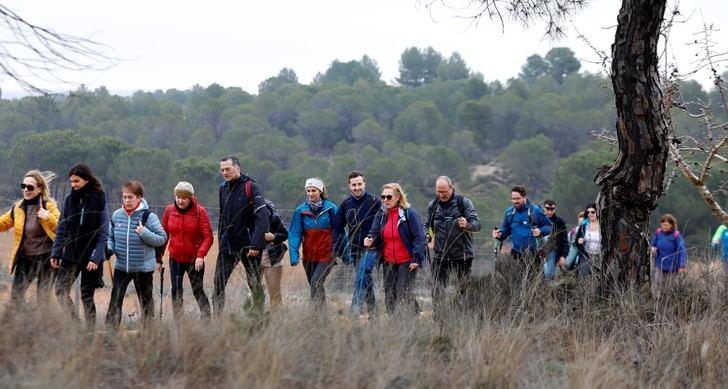 Villalgordo del Júcar acogió la quinta de las rutas de senderismo 2020 de la Diputación de Albacete
