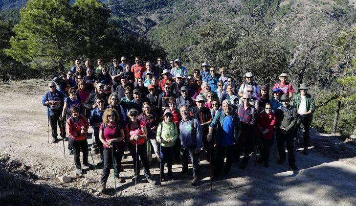 Las rutas senderistas de la Diputación a su paso por Alcaraz y Bienservida, muy emocionantes
