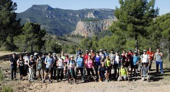 Ayna cerró la primera fase de la temporada de senderismo con la Diputación de Albacete