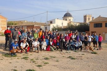 Caudete sorprendió a los participantes en las Rutas de Senderismo de la Diputación de Albacete