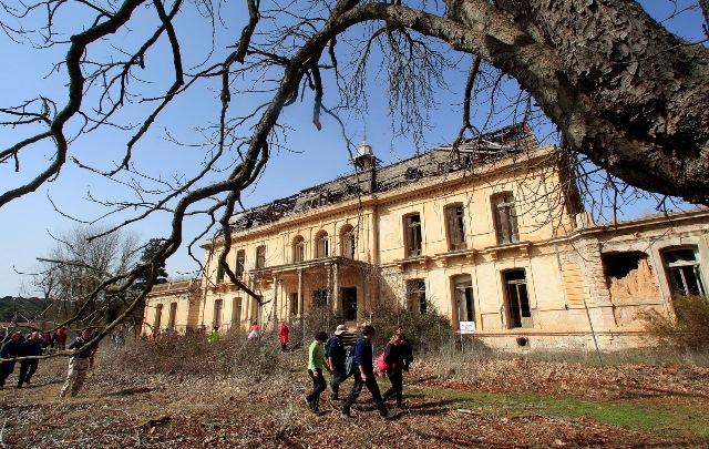 Villagordo de Júcar acoge la ruta de senderismo de mano de la Diputación de Albacete