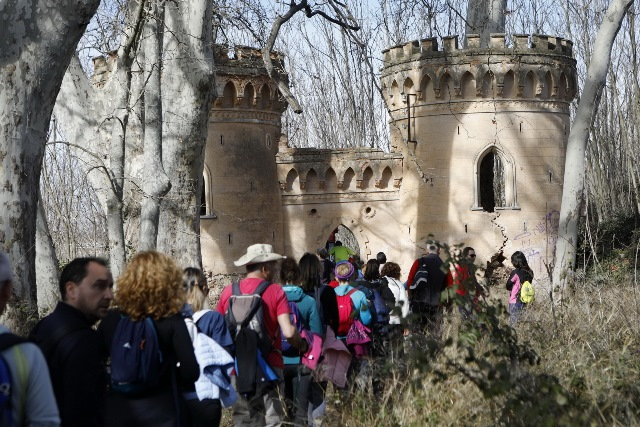 Soleado día en Villalgordo del Júcar con la V Ruta de Senderismo de la Diputación de Albacete