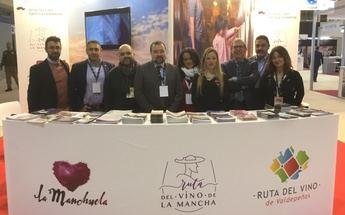Castilla-La Mancha promociona sus Rutas del Vino en la Feria Internacional de Enoturismo de Valladolid