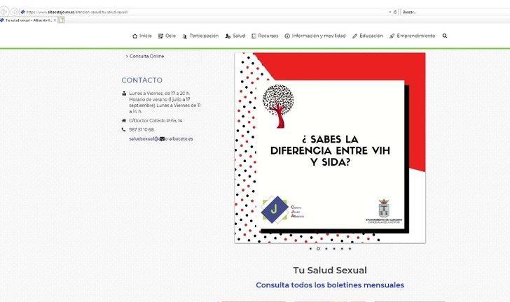 El Centro Joven de Albacete organiza actividades de sensibilización para los jóvenes sobre la prevención del VIH