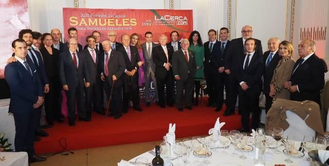 Celebrada la Gala de entrega de los XIII 'Premios Taurinos Samueles', de la Feria Taurina de Albacete