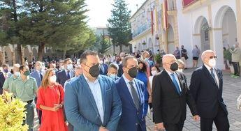 El Santuario de Cortes celebra el inicio del Año Jubilar, con la apertura de la Puerta Santa bendecida por el obispo de Albacete