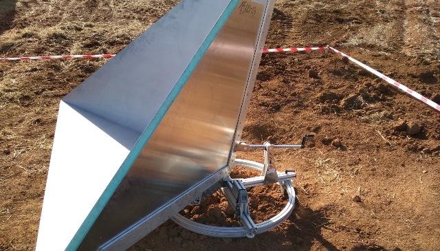 El lanzamiento del satélite PAZ campo de calibración en El Bonillo (Albacete)