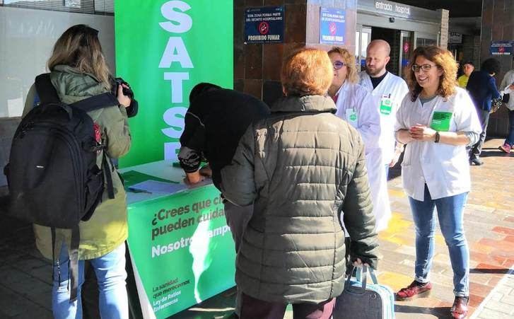 SATSE pide que las Cortes de Castilla-La Mancha apoyen ley de ratios en sanidad