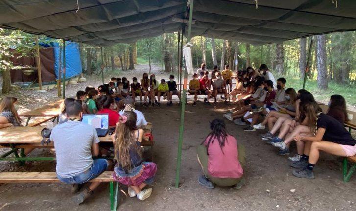 Los grupos scout de Albacete retoman los campamentos de verano tras un año duro de pandemia: 'Los niños lo necesitaban'