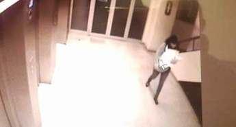 Imagen de la cámara de seguridad del hospital de Guadalajara del secuestro del bebé