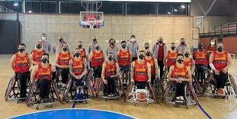 Tres jugadores del BSR Amiab Albacete están en la selección nacional de baloncesto en silla de ruedas para Tokio