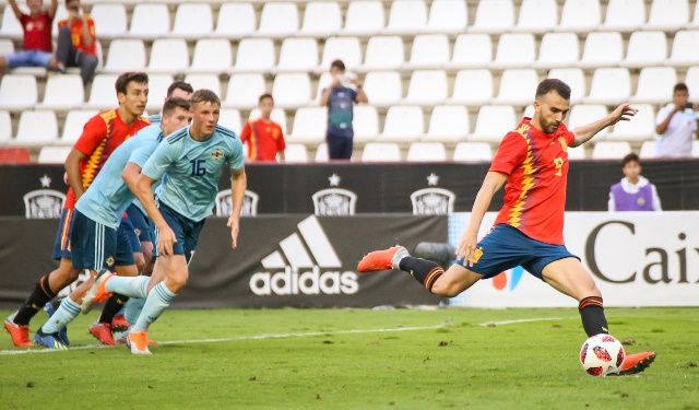 3.400 personas presenciaron en Albacete la derrota de la selección sub-21 de España ante Irlanda (1-2)
