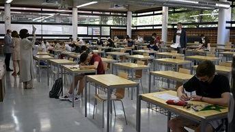 El 96,44% de los estudiantes aprueba la EvAU en el distrito universitario de Castilla-La Mancha