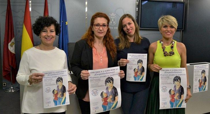 La Plaza del Altozano de Albacete acogerá el próximo sábado la 'Fiesta de la Lactancia'