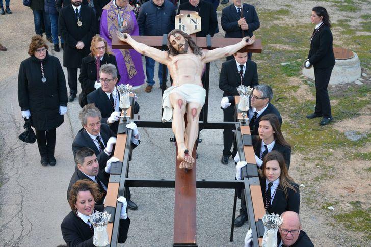 La procesión del 'Cristo del Cementerio' abre este viernes la Semana Santa de Albacete