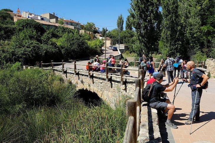 Las Rutas de Senderismo de la Diputación de Albacete comenzaron en Casas de Lázaro
