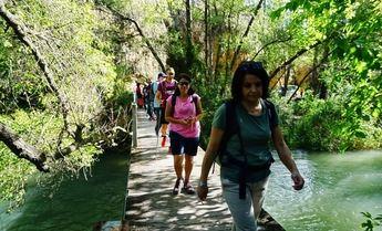 El río Segura, en Elche de la Sierra, protagonista con la ruta de senderismo de la Diputación de Albacete