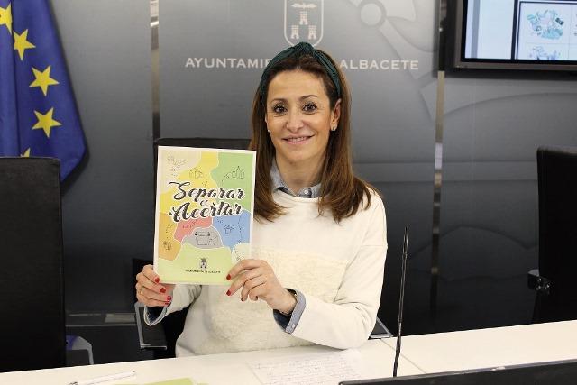 'Separar es acertar' la campaña del Ayuntamiento de Albacete para concienciar sobre las ventajas de reciclar