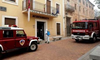El SEPEI de la Diputación de Albacete realiza más de 500 actuaciones de desinfección de espacios públicos
