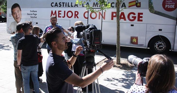 El PSOE de Castilla-La Mancha insiste en la importancia de ir a votar el día 26 para evitar los pactos de la derecha