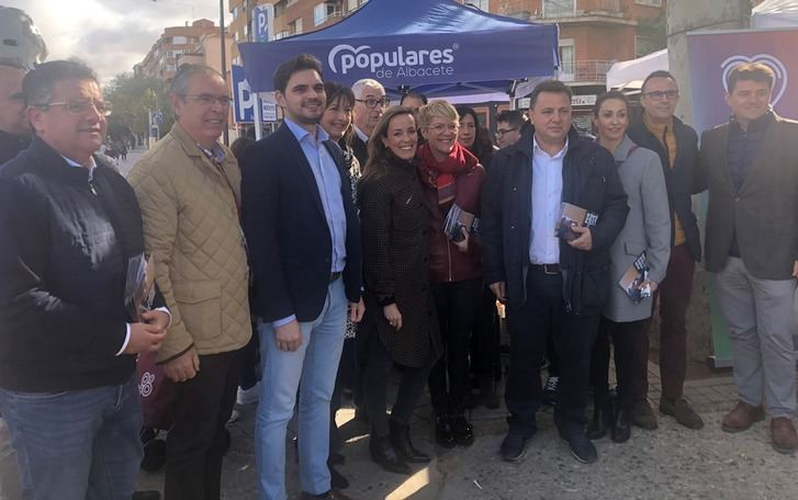 Jornada de 'Invasores' para los candidatos del PP al Congreso por Albacete