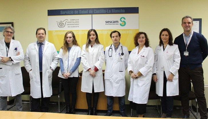 Profesionales del Hospital de Albacete logran tres premios en el II Concurso de casos clínicos para residentes