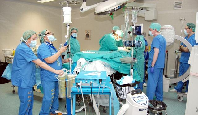 Los cirujanos vasculares de Castilla-La Mancha han realizado 1.600 operaciones hasta agosto