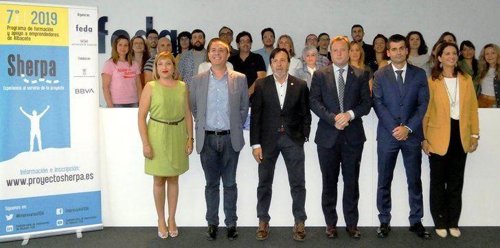Comienza en Albacete la séptima edición del Programa Sherpa para emprendedores