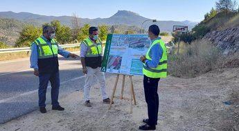 La Consejería de Fomento reformará un tramo de la A-310 a su paso por Siles (Albacete)