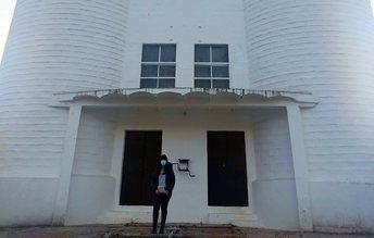 Estudiantes de Caminos de UCLM hacen inventario de los silos y proponen nuevos usos urbanos para su recuperación