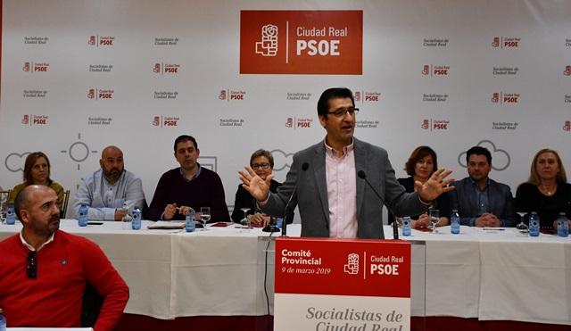 Blanca Fernández y Jesús Martín encabezarán listas del PSOE en Ciudad Real a Congreso y Senado
