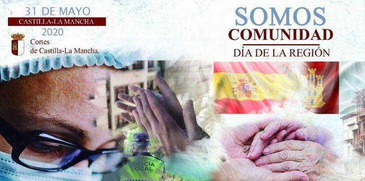 'Somos Comunidad', el lema de las Cortes de Castilla-La Mancha para conmemorar el Día de la Región este domingo