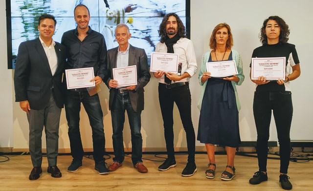 El stand de la Diputación de Albacete, escenario de la entrega de galardones del concurso fotográfico 'Albacete Siempre'