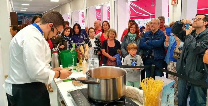 La Sierra del Segura y sus productos, en el viaje gastronómico de la Diputación de Albacete en la Feria