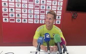 Susaeta, jugador del Albacete, dice que es probable que sea la Segunda más fuerte de las últimas temporadas