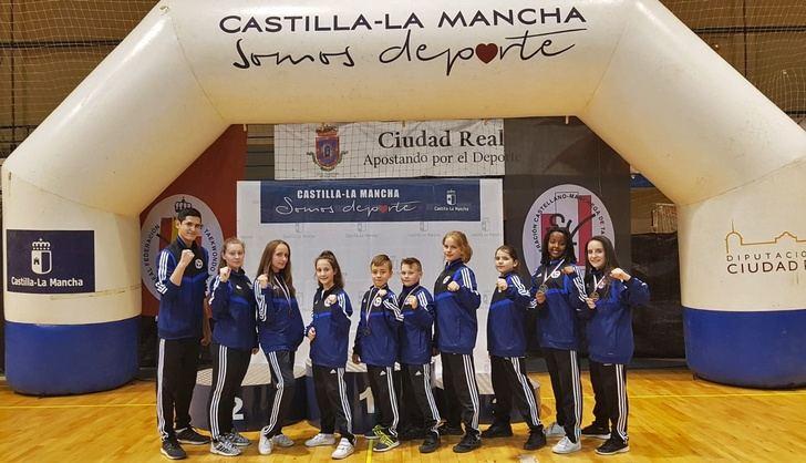 Buenos resultados para los jóvenes de Albacete en la fase final del Campeonato Escolar de taekwondo