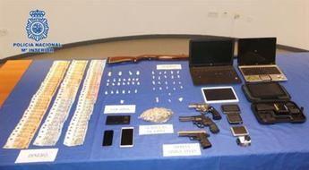 La Policía detiene a tres personas y desarticula una red de tráfico de cocaína y heroína en Talavera