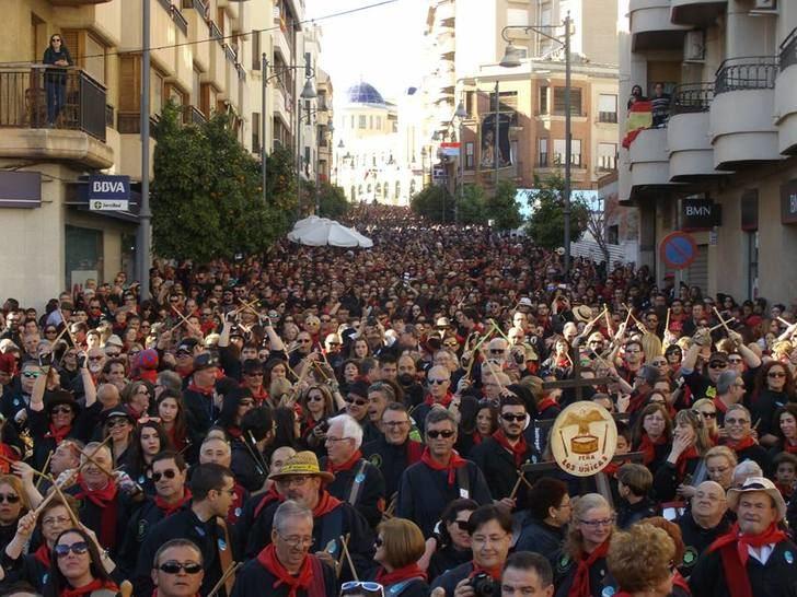 15.000 personas estará presentes en las Jornadas de Exaltación del Tambor y el Bombo que se celebran en Hellín