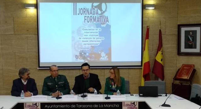 Tarazona de la Mancha, sede de la III Jornada Formativa para profesionales sobre violencia de género