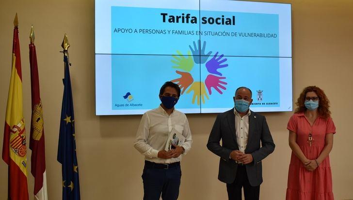 Ayuntamiento y Aguas de Albacete destinan 1,2 millones de euros para sufragar su Tarifa Social