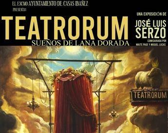 José Luis Serzo expone 'Teatrorum-Sueños de lana dorada' en Casas Ibáñez