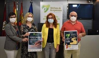 El Ayuntamiento de Albacete se suma al Teléfono de la Esperanza, en el Día Internacional de la prevención del suicidio