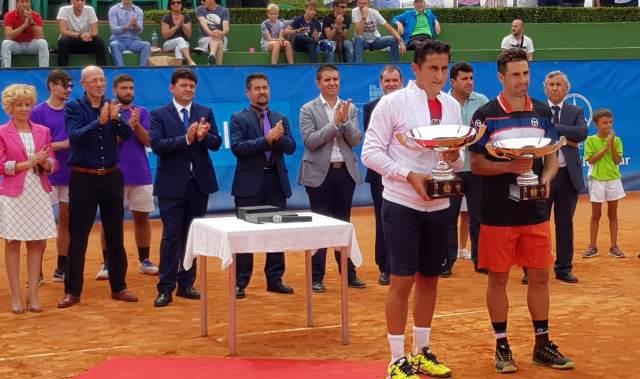 Nicolás Almagro hace buenos los pronósticos y gana el Ciudad de Albacete de tenis 2018